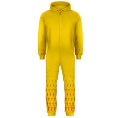 Yellow Star Light Space Hooded Jumpsuit (men)  by Mariart