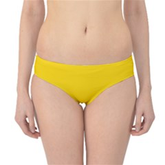 Yellow Star Light Space Hipster Bikini Bottoms by Mariart