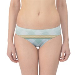 Circle Polka Plaid Triangle Gold Blue Flower Floral Star Hipster Bikini Bottoms by Mariart