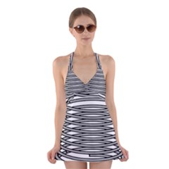 Circular Iron Halter Swimsuit Dress by Mariart