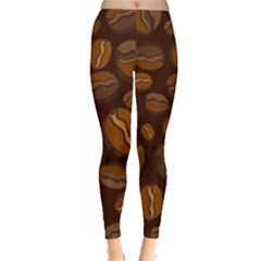 Coffee Beans Leggings  by Mariart