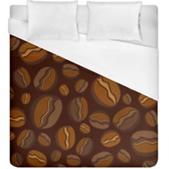 Coffee Beans Duvet Cover (king Size) by Mariart