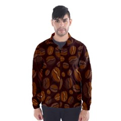 Coffee Beans Wind Breaker (men)