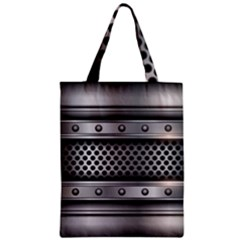 Iron Content Hole Mix Polka Dot Circle Silver Classic Tote Bag by Mariart