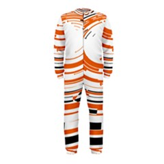Hole Black Orange Arrow Onepiece Jumpsuit (kids) by Mariart