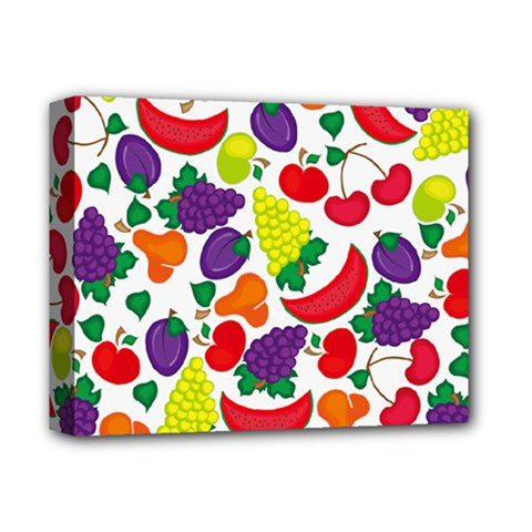 Fruite Watermelon Deluxe Canvas 14  X 11  by Mariart