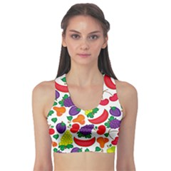 Fruite Watermelon Sports Bra by Mariart