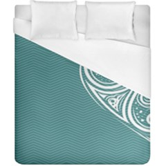 Line Wave Chevron Star Blue Love Heart Sea Beach Duvet Cover (california King Size)