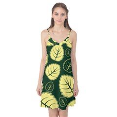 Leaf Green Yellow Camis Nightgown