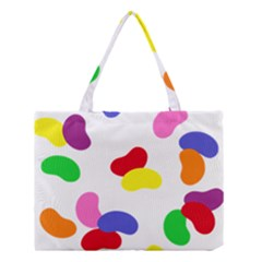 Seed Beans Color Rainbow Medium Tote Bag by Mariart