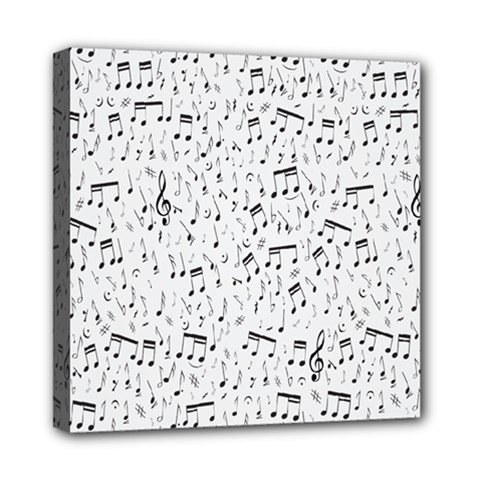Musical Notes Song Mini Canvas 8  X 8  by Mariart