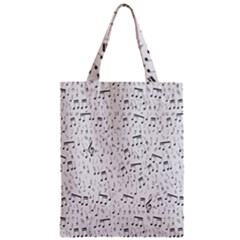 Musical Notes Song Zipper Classic Tote Bag by Mariart