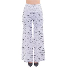 Musical Notes Song Pants by Mariart