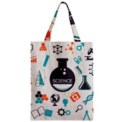 Science Chemistry Physics Zipper Classic Tote Bag by Mariart