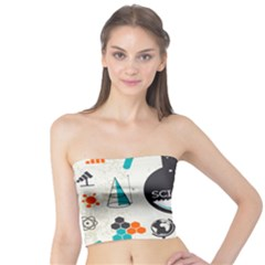 Science Chemistry Physics Tube Top by Mariart