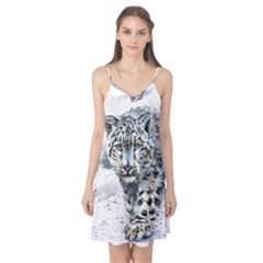 Snow Leopard  Camis Nightgown by kostart
