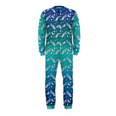 Under The Sea Paisley Onepiece Jumpsuit (kids)