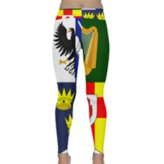 Arms Of Four Provinces Of Ireland  Classic Yoga Leggings by abbeyz71