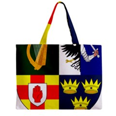 Arms Of Four Provinces Of Ireland  Zipper Mini Tote Bag by abbeyz71
