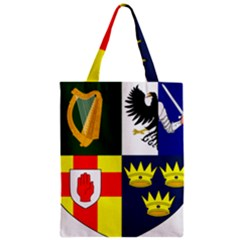 Arms Of Four Provinces Of Ireland  Zipper Classic Tote Bag by abbeyz71
