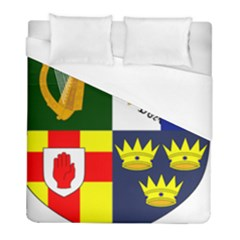 Arms Of Four Provinces Of Ireland  Duvet Cover (full/ Double Size) by abbeyz71