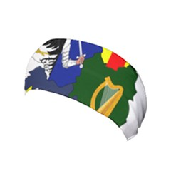 Flag Map Of Provinces Of Ireland  Yoga Headband