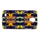 Mystic Yellow Blue Ornament Pattern Galaxy S4 Active View1