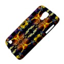 Mystic Yellow Blue Ornament Pattern Galaxy S4 Active View4