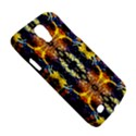 Mystic Yellow Blue Ornament Pattern Galaxy S4 Active View5