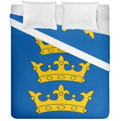 Banner Of Lordship Of Ireland (1177 1542) Duvet Cover Double Side (california King Size) by abbeyz71