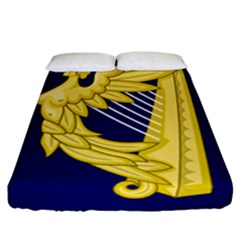 Royal Standard Of Ireland (1542 1801) Fitted Sheet (california King Size) by abbeyz71