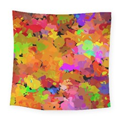 Colorful Shapes            Fleece Blanket by LalyLauraFLM