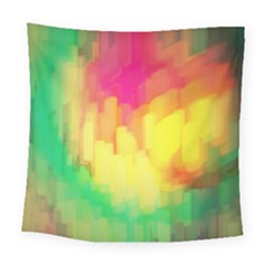 Pastel Shapes Painting           Fleece Blanket by LalyLauraFLM