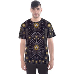 Lace Of Pearls In The Earth Galaxy Pop Art Men s Sport Mesh Tee by pepitasart
