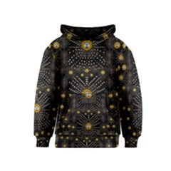 Lace Of Pearls In The Earth Galaxy Pop Art Kids  Pullover Hoodie by pepitasart