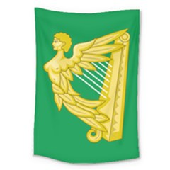 The Green Harp Flag Of Ireland (1642 1916) Large Tapestry by abbeyz71