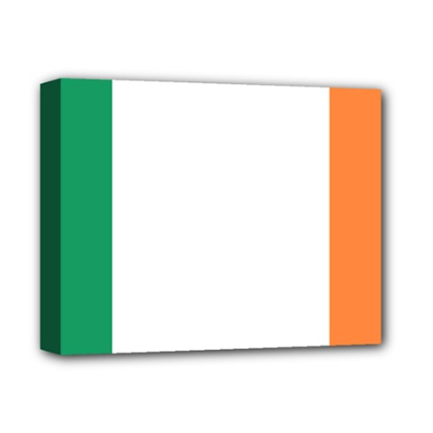 Flag Of Ireland  Deluxe Canvas 14  X 11  by abbeyz71