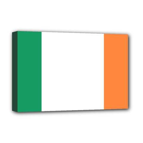 Flag Of Ireland  Deluxe Canvas 18  X 12   by abbeyz71