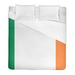 Flag Of Ireland  Duvet Cover (full/ Double Size) by abbeyz71