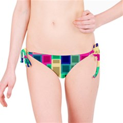 Rectangles And Squares              Bikini Bottom by LalyLauraFLM