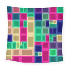 Rectangles And Squares             Fleece Blanket by LalyLauraFLM