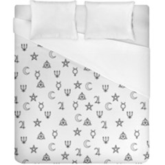 Witchcraft Symbols  Duvet Cover (california King Size)