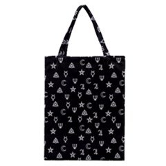 Witchcraft Symbols  Classic Tote Bag by Valentinaart