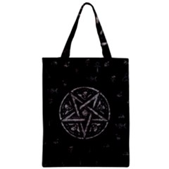 Witchcraft Symbols  Zipper Classic Tote Bag by Valentinaart