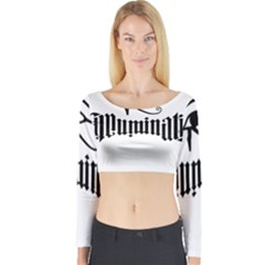 Illuminati Long Sleeve Crop Top