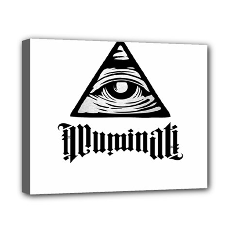 Illuminati Canvas 10  X 8  by Valentinaart