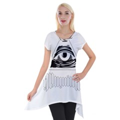 Illuminati Short Sleeve Side Drop Tunic