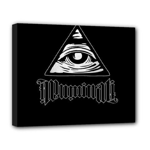 Illuminati Deluxe Canvas 20  X 16