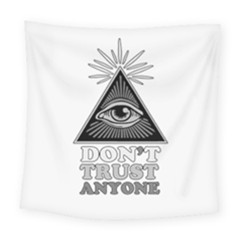 Illuminati Square Tapestry (large) by Valentinaart