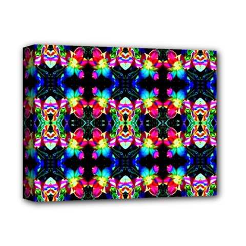 Colorful Bright Seamless Flower Pattern Deluxe Canvas 14  X 11  by Costasonlineshop